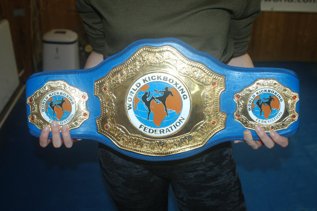 PRO-AM World title belt