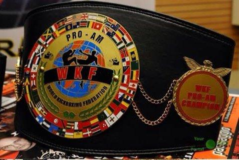 WKF PRO-AM belt